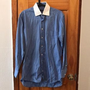 Men's Burberry long sleeve dress shirt